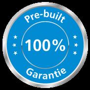 Waarom 100% Pre-build Garantie?